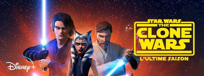 Star Wars : Clone Wars - En mai sur Disney+