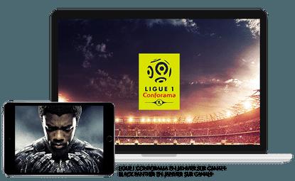 Ligue 1 Conforama en Janvier sur CANAL+ / Black panther en Janvier sur CANAL+