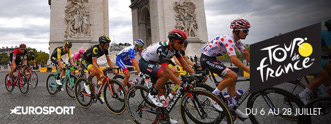 Le tour de France du 6 au 28 Juillet sur Eurosport