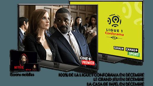 Ligue 1 Conforama saison 2019-2020 / Le grand jeu - En décembre sur CINE+PREMIER / Casa de Papel - Regardez maintenant sur NETFLIX