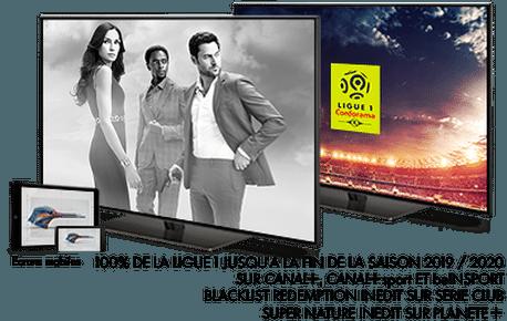 Super Nature en Avril sur Planète+ / Blacklist Redemption en Avril sur sérieclub / Ligue 1 Conforama en Avril sur CANAL+