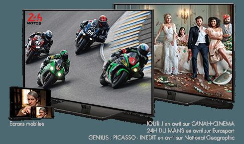 Jour J en avril sur CANAL+ / 24H du Mans Moto en avril sur Eurosport / Genius : Picasso - inédit en avril sur National Geographic