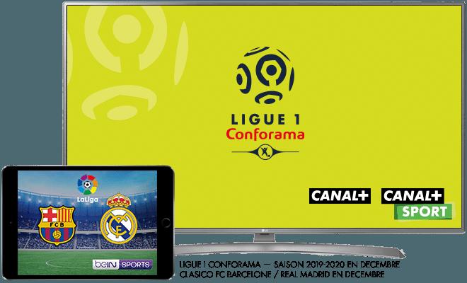 Ligue 1 Conforama saison 2019-2020 / Liga - Classico FC Barcelone / Real Madrid - En décembre sur bein SPORTS
