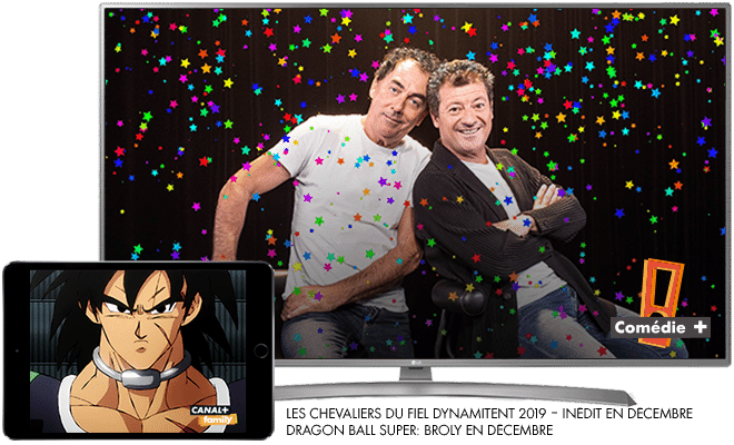 Les chevaliers du Fiel Dynamitent 2019 - En décembre sur COMEDY+ / Dragon ball Super: Broly - En décembre sur CANAL+FAMILY