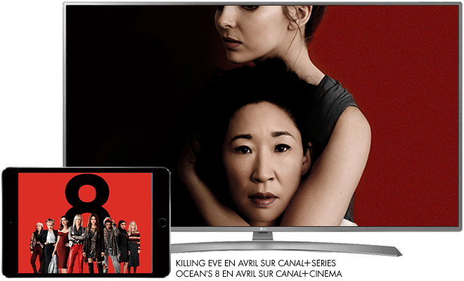 Killing Eve en Avril sur CANAL+SERIES / Ocean's 8 en Avril sur CANAL+CINEMA