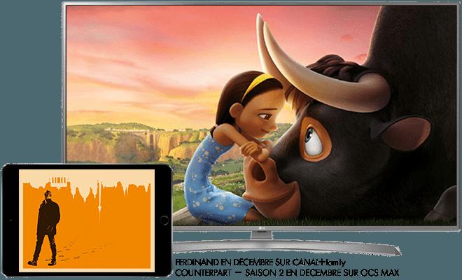 Ferdinand en décembre sur CANAL+ Family / Counterpart - saison 2 en décembre sur OCS max