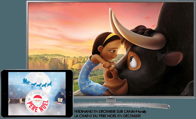Ferdinand en décembre sur CANAL+ Family / La chaine du Père Noel en décembre