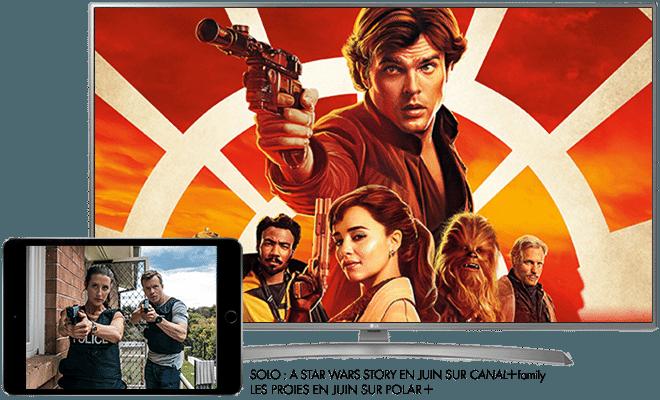 Solo: A Star Wars Story en Juin sur CANAL+CINEMA / Les Proies en Juin sur Polar +