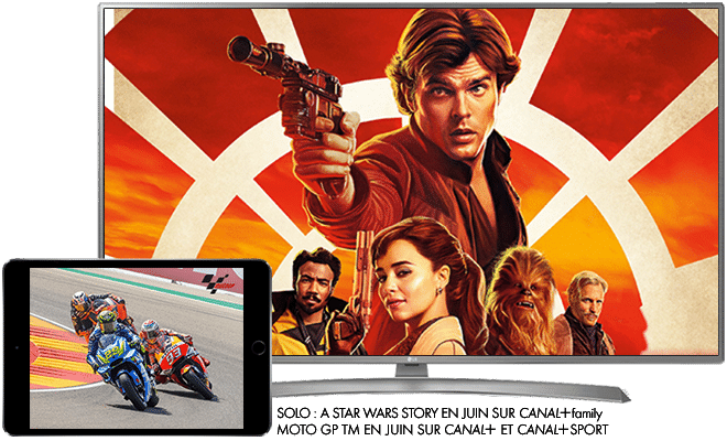 Solo: A Star Wars Story en Juin sur CANAL+ / MotoGP en Juin