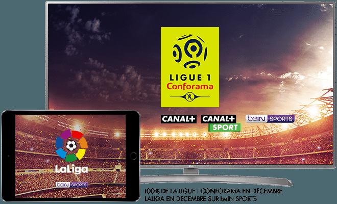 Ligue 1 Conforama en décembre sur CANAL+, CANAL+ Sport et beIN Sport / LaLiga en décembre sur beIN SPORT