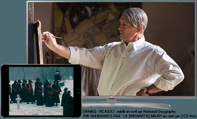 Genius : Picasso - Inédit en avril sur National Geographic / The Handmaid's Tale : La Servante Ecarlate en avril sur OCS Max