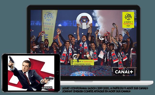 Ligue 1 Conforama saison 2019 - 2020 à partir du 8 août sur CANAL+ / Johnny English contre attaque en août sur CANAL+