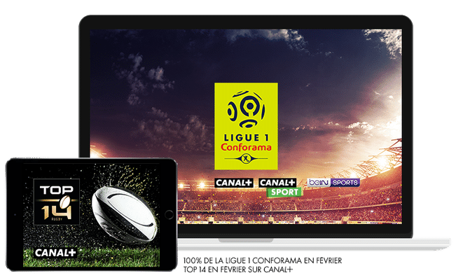 Ligue 1 Conforama en Février sur CANAL+, CANAL+ Sport et beIN Sport / Top 14 en Février sur CANAL+