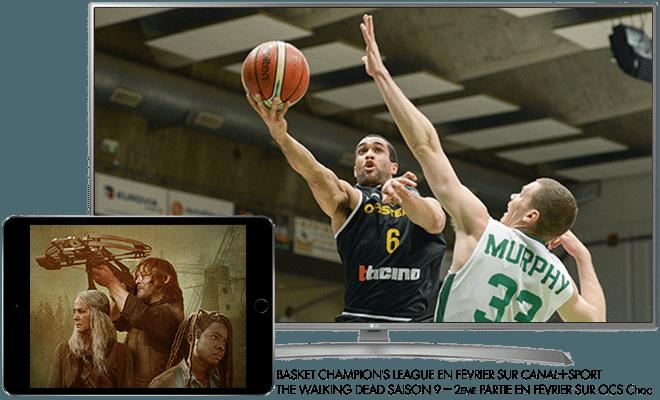 Basket Champion's league en Février sur CANAL+Sport / The Walking Dead saison 9, 2eme Partie en Février sur OCS CHOC