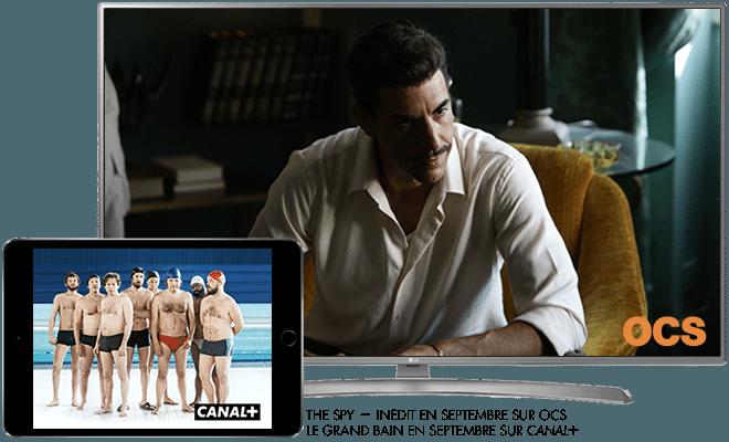 The spy - Inédit en Septembre sur OCS / Le grand bain en septembre sur CANAL+