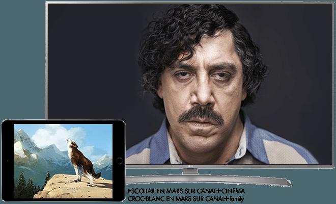 Croc-Blanc en Mars sur CANAL+Family / Escobar en Mars sur CANAL+CINEMA