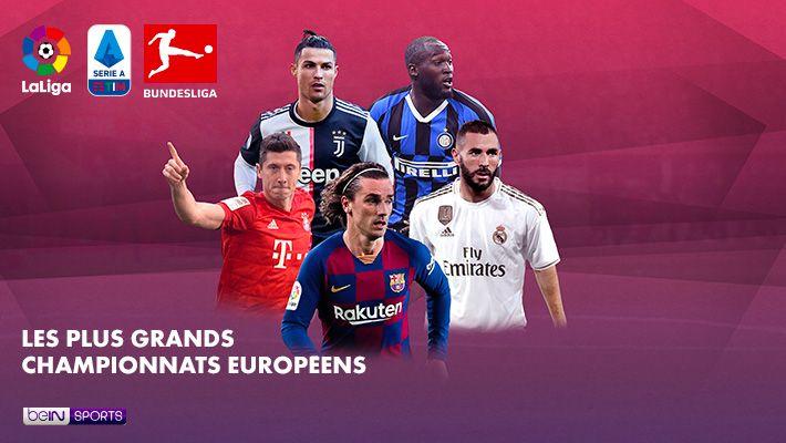 Les plus grands championnats Européens sur beIN SPORTS