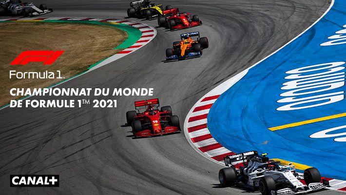 Championnat du monde de Formule 1TM 2021 sur CANAL+