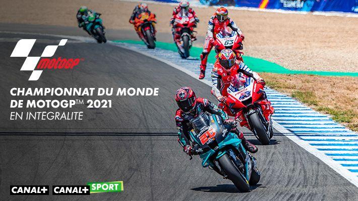 Championnat du monde de MotoGPTM 2021 - En intégralité sur CANAL+ et CANAL+ SPORT