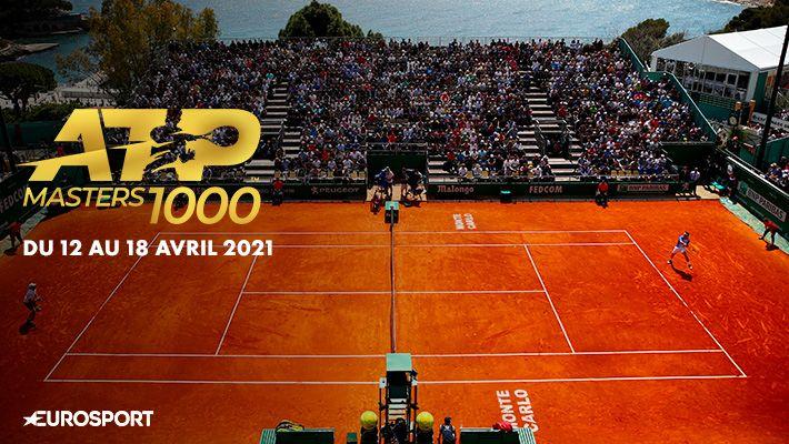 ATP masters 1000 du 12 au 18 avril 2021 sur EUROSPORT