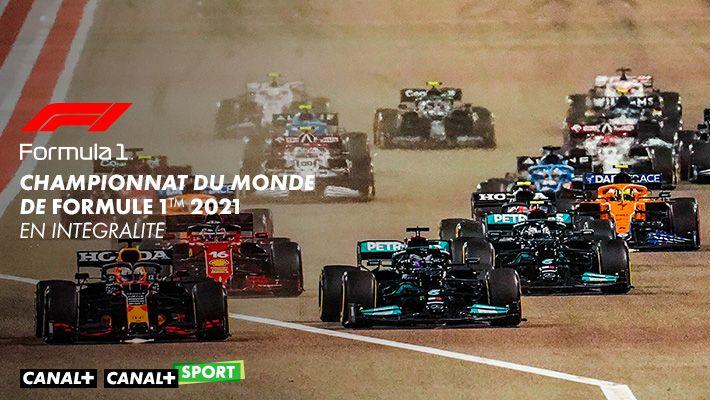 Formula 1 championnat du monde de Formule1tm 2021 sur CANAL+ et CANAL+SPORT