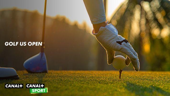 Golf us open sur CANAL+ et CANAL+SPORT