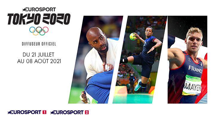 JO TOKYO 2020 sur EUROSPORT 1&2