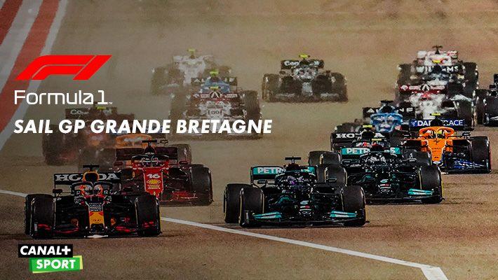 SAIL GP GRANDE BRETAGNE Formula 1 sur CANAL+SPORT