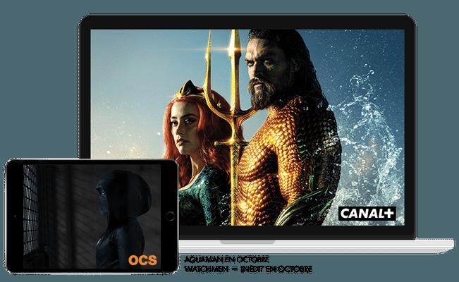 Aquaman en octobre sur CANAL+ / Watchmen - Inédit en octobre sur OCS