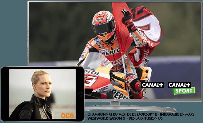 Championnat du monde de MotoGP 2020 en intégralité sur CANAL+ et CANAL+SPORT / Westworld - Saison 3 dès la diffusion US en mars sur OCS
