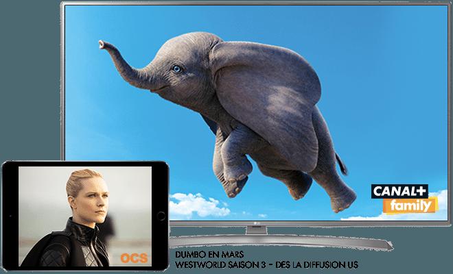 Dumbo - En mars sur CANAL+Family / Westworld - Saison 3 dès la diffusion US en mars sur OCS