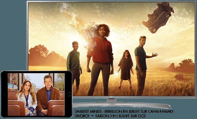 Darkest Minds Rebellion - Cet été sur CANAL+FAMILY / Divorce Saison 3 - Cet été sur OCS