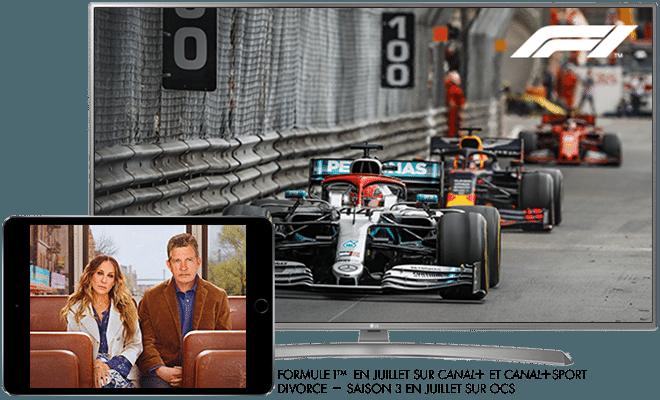 Grand Prix de France de F1 TM - Cet été sur CANAL+ / Divorce Saison 3 - Cet été sur OCS