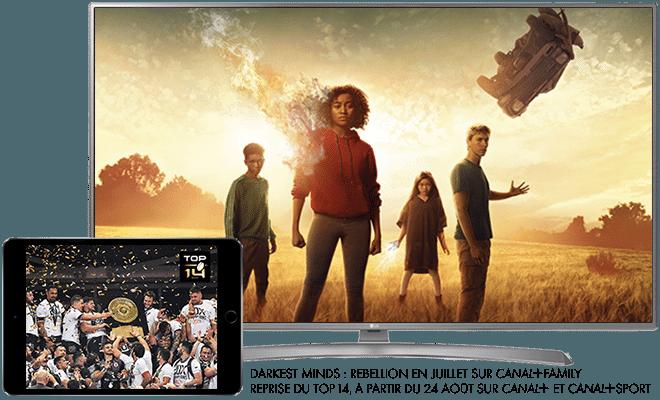 Darkest Minds Rebellion - Cet été sur CANAL+FAMILY / Reprise du TOP 14 - A partir du 24 août sur CANAL+ et CANAL+SPORT