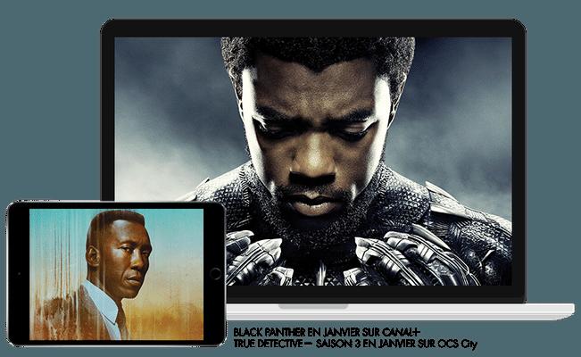 Black panther en Janvier sur CANAL+ / True detective, saison 3 en Janvier sur OCS City