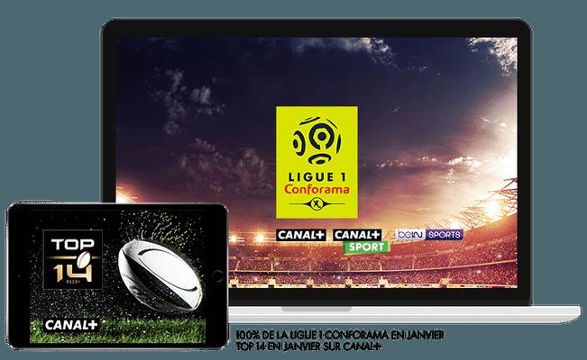 Ligue 1 Conforama en Janvier sur CANAL+ / Top 14 en Janvier sur CANAL+