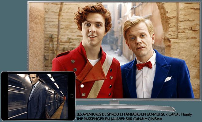 The passenger en Janvier sur CANAL+ Cinéma / Les aventures de spirou et fantasio en Janvier sur CANAL+ Family
