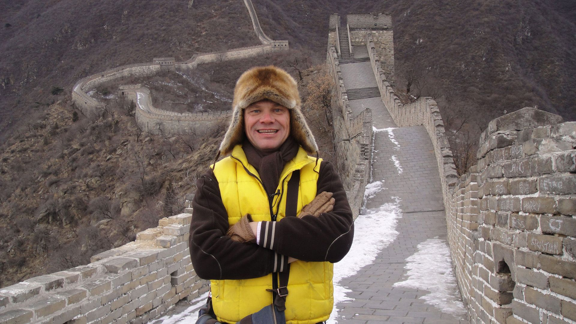 Fred Chesneau en Chine