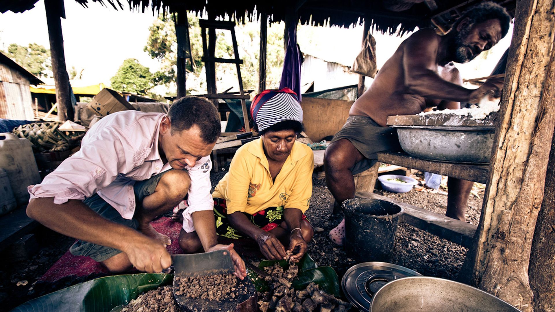 Fred Chesneau au Vanuatu