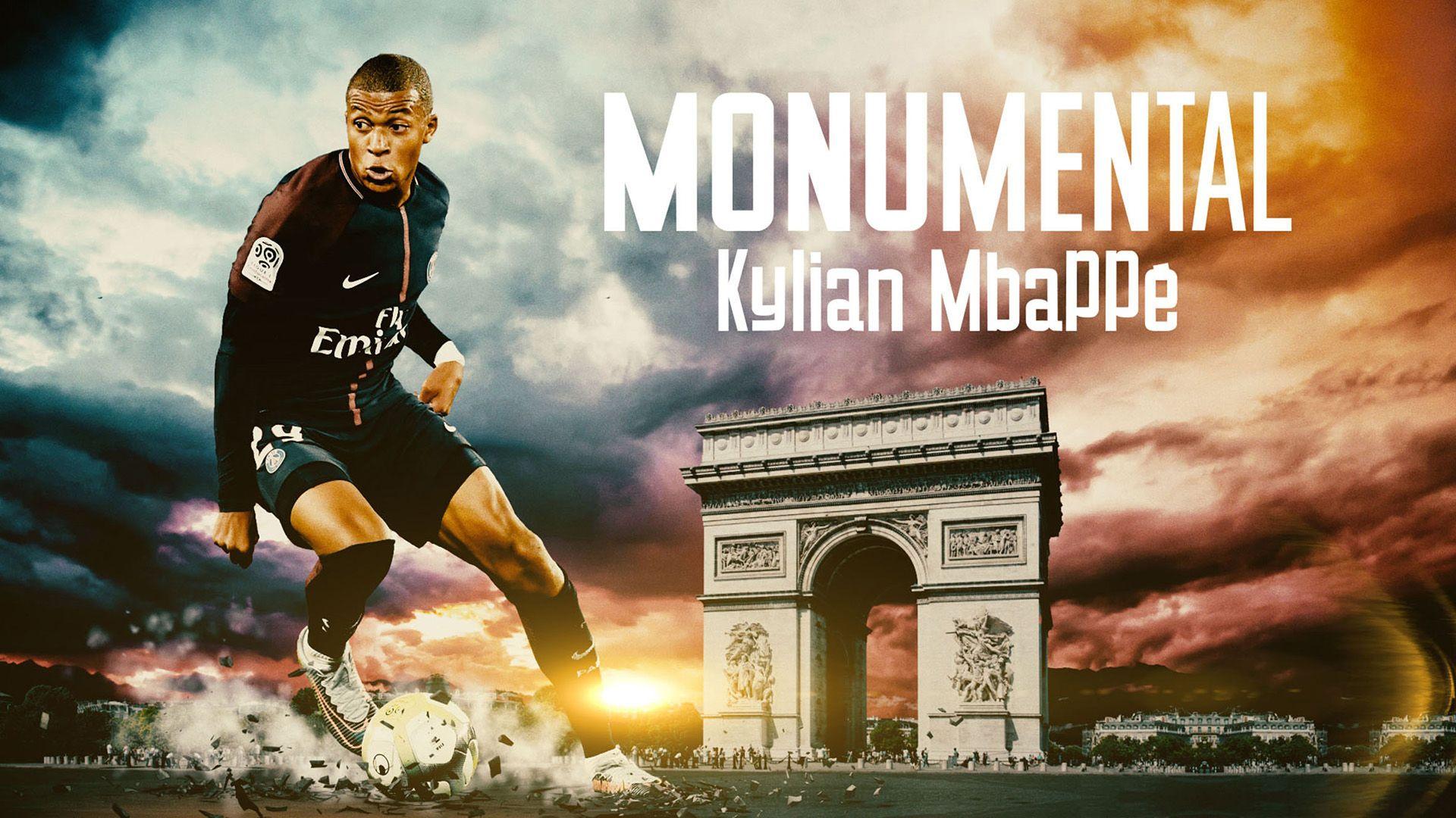 Monumental : Kylian Mbappé