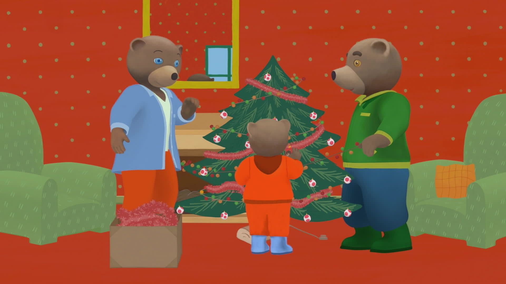 Petit Ours Brun et le sapin de Noël