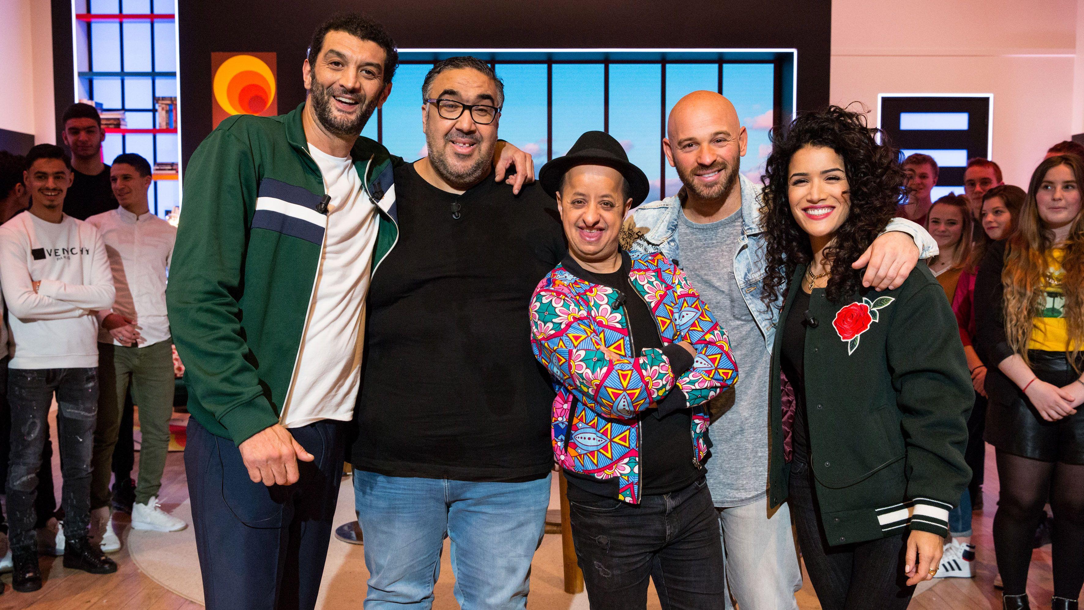 Sabrina Ouazani & Franck Gastambide VS Booder & Wahid