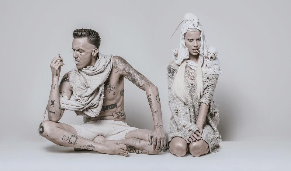 Le teaser flippant de la série de Die Antwoord