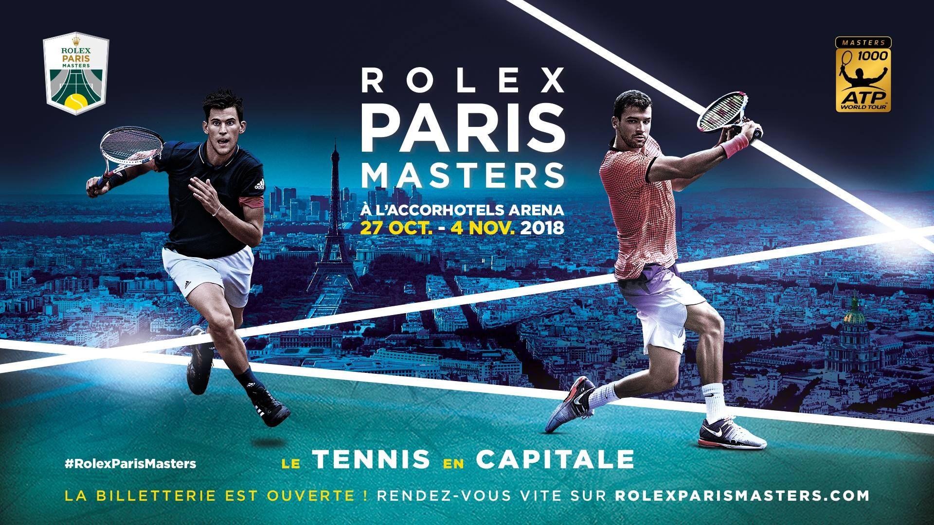 le rolex paris masters en direct sur les cha nes canal mycanal. Black Bedroom Furniture Sets. Home Design Ideas