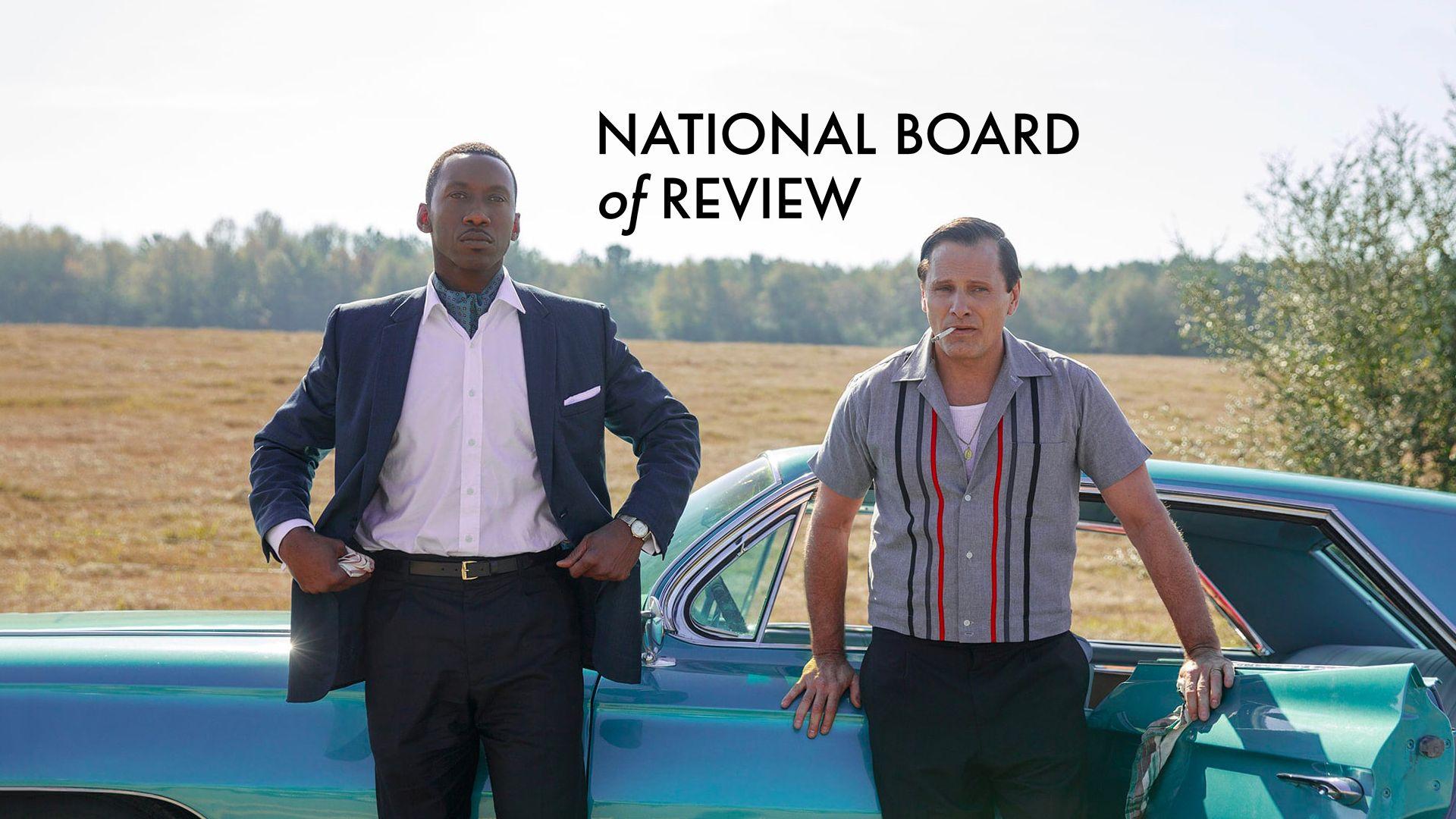 National Board Of Review 2018 : les premières tendances avant les Oscars 2019