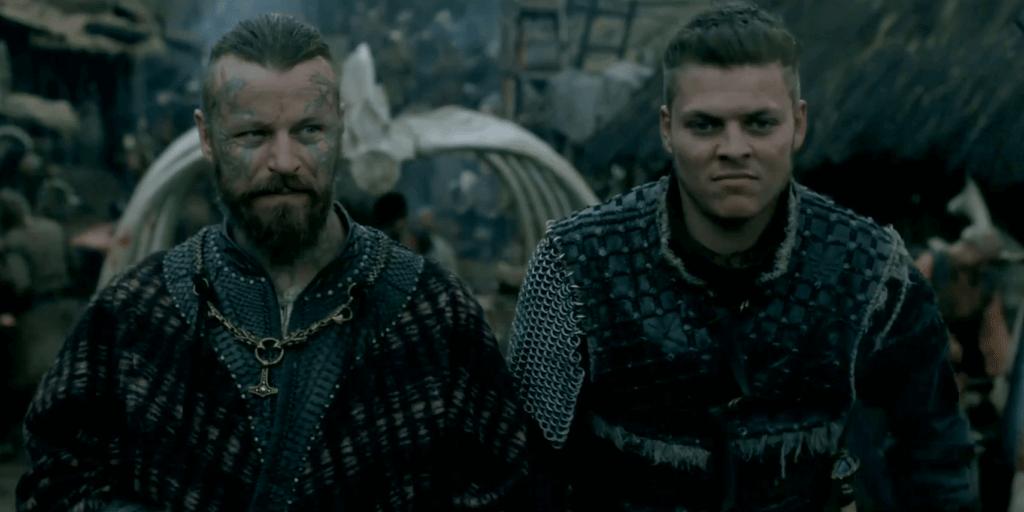 Vikings saison 5 : l'interview d'Alex Høgh Adersen (Ivar) et Peter Franzén (Harald)