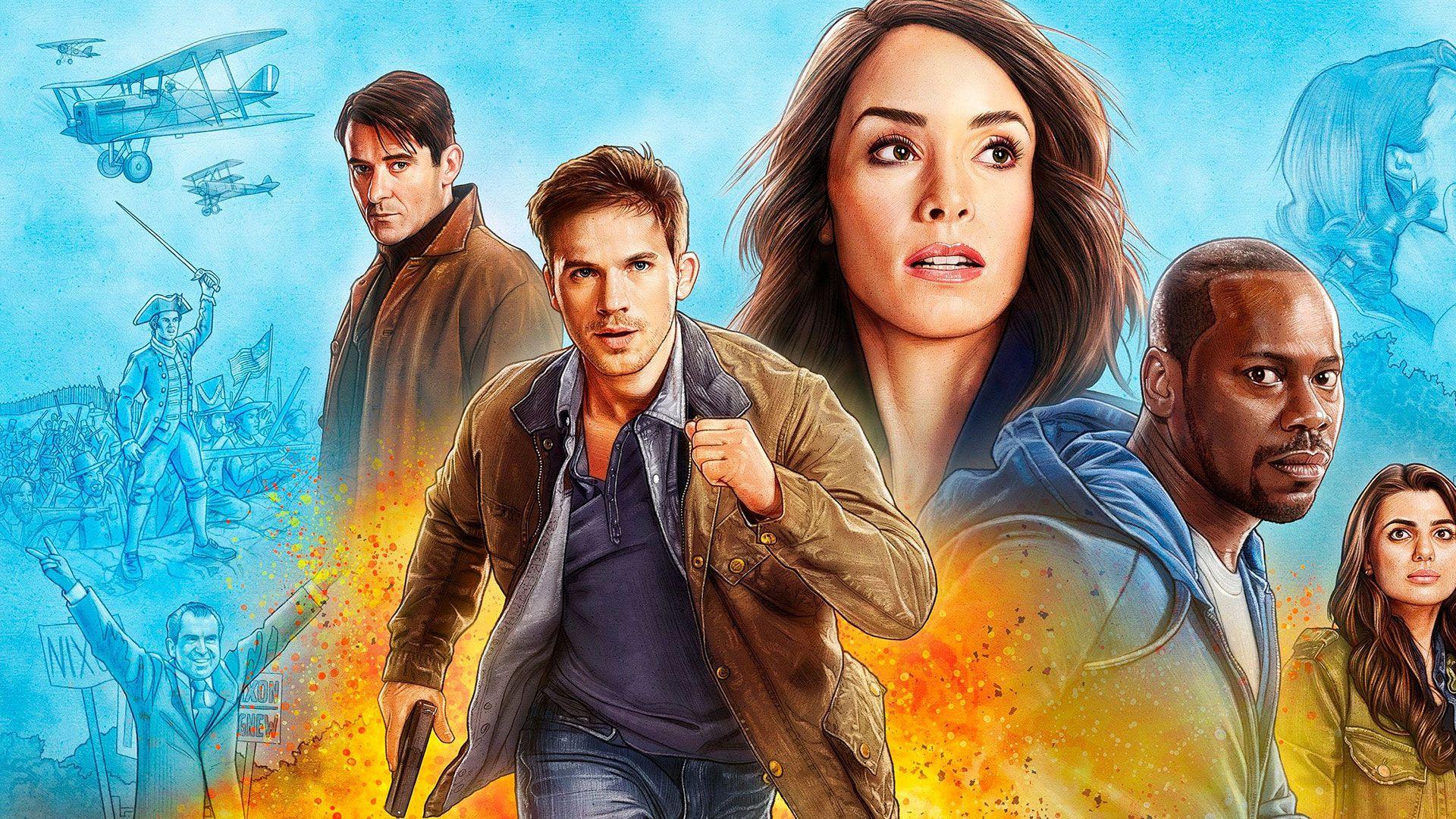 Timeless la série qui réécrit l'Histoire à retrouver dès le 15/01 sur SérieClub et myCANAL.