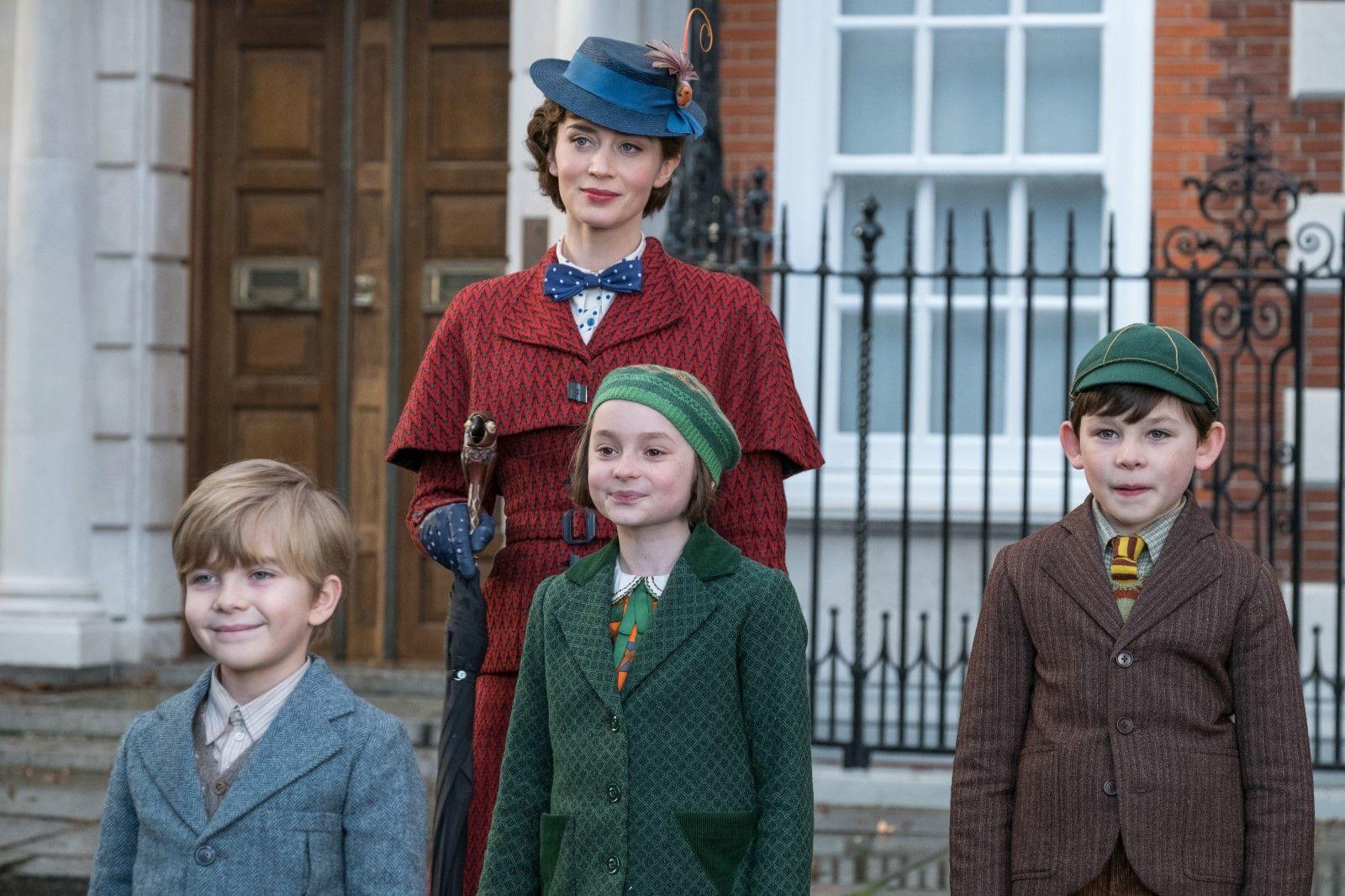 Le Retour de Mary Poppins aux Golden Globes 2019 : Emily Blunt une nounou tombée du ciel
