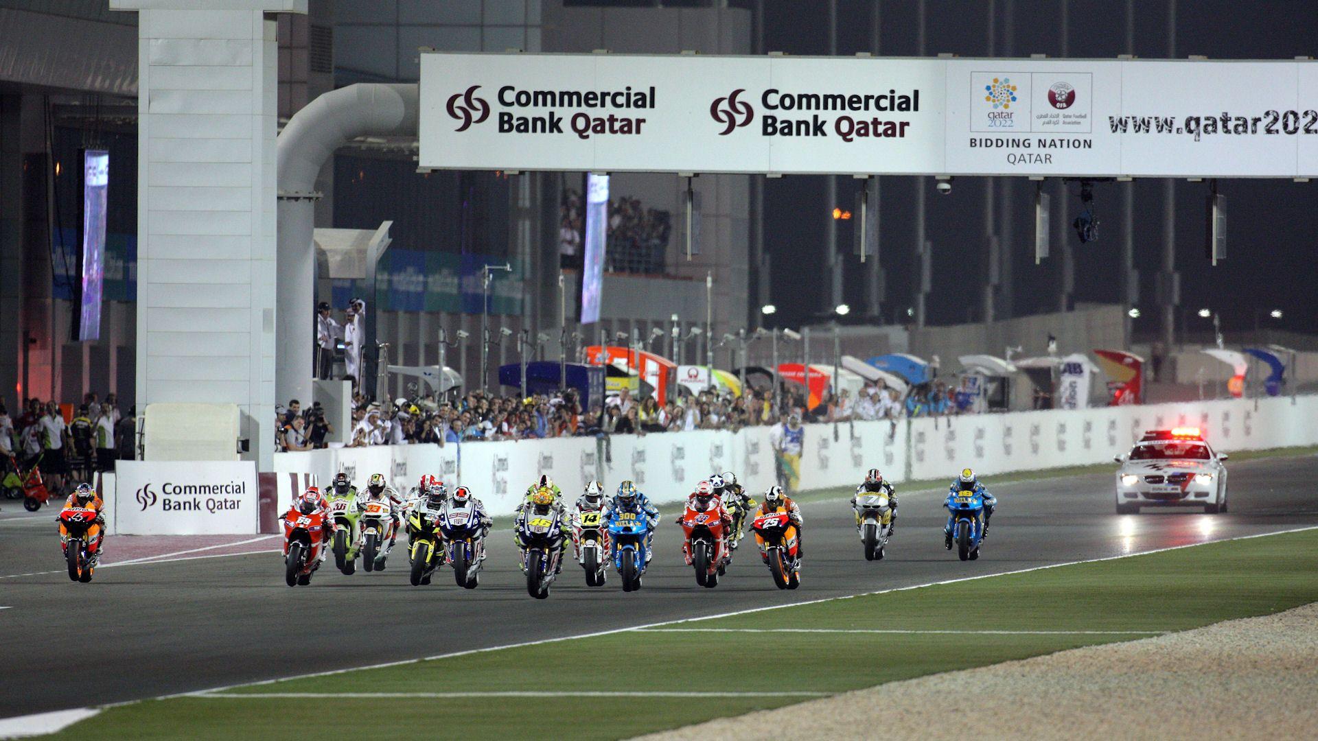 grand prix du qatar moto gp mycanal. Black Bedroom Furniture Sets. Home Design Ideas