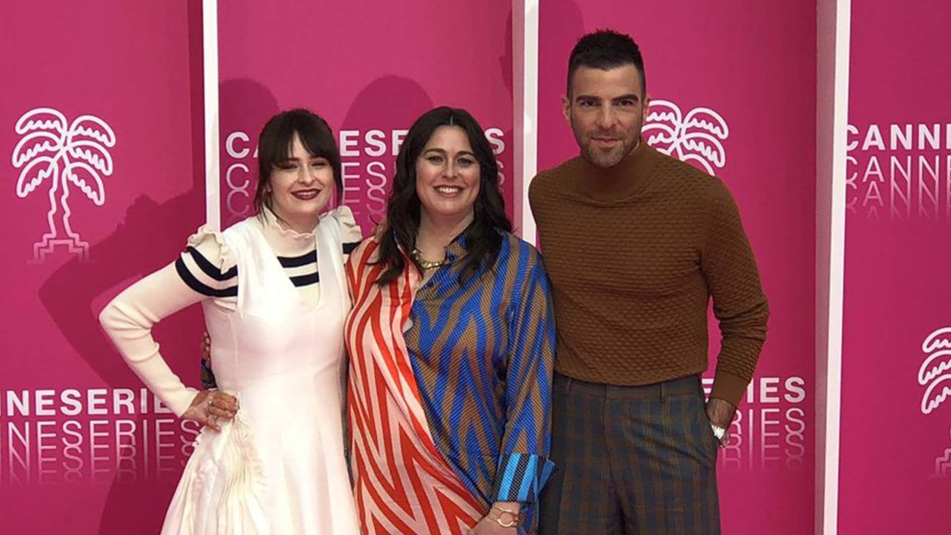 CANNESERIES 2019 jour 3 : Zachary Quinto et l'équipe de NOS4A2 font sensation sur le tapis rose